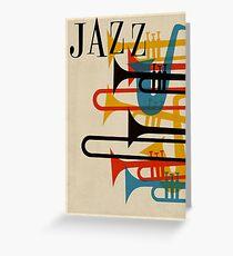 jazz Greeting Card