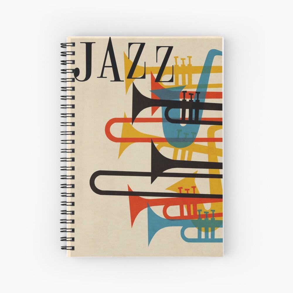jazz Spiral Notebook