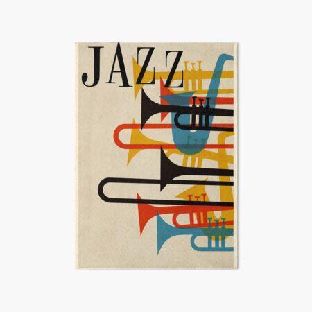jazz Art Board Print