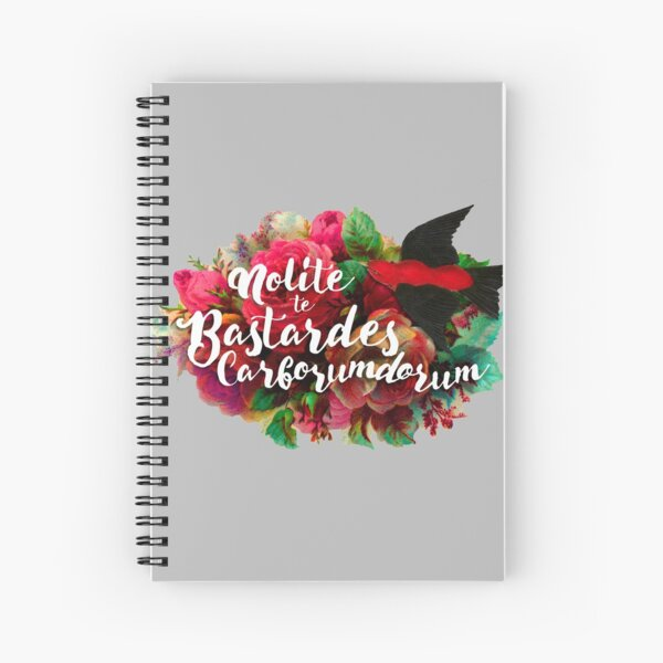Don't Let the Bastards Grind You Down Spiral Notebook