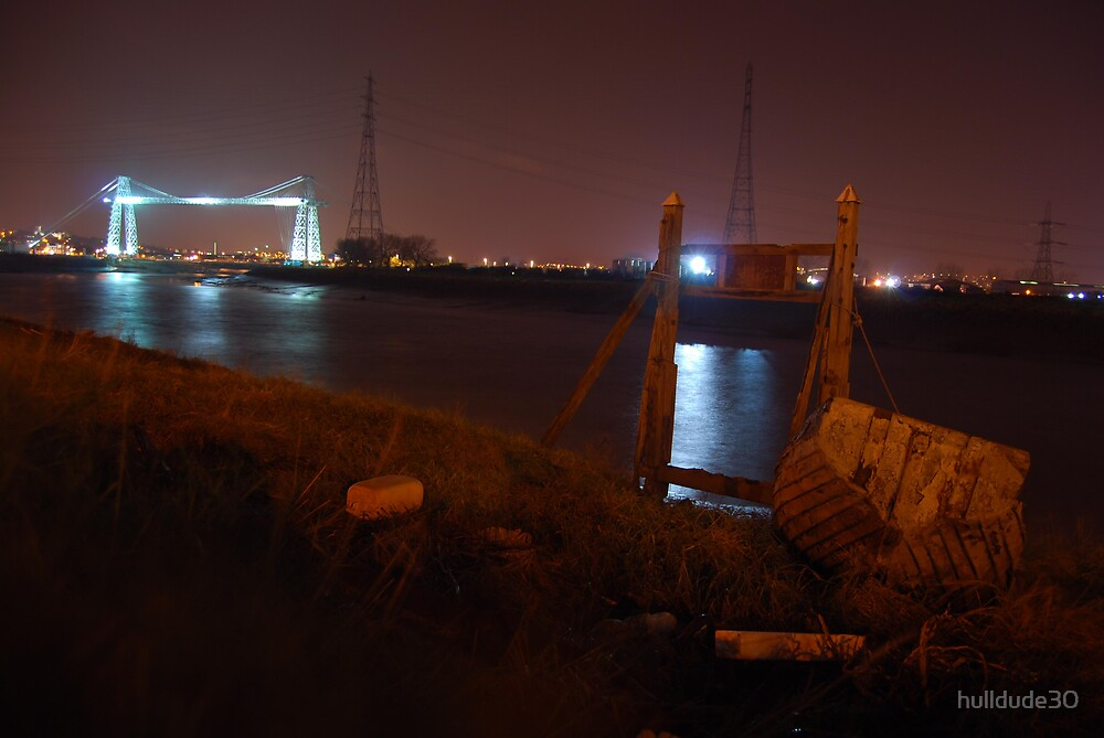 Newport Transporter Bridge  by hulldude30