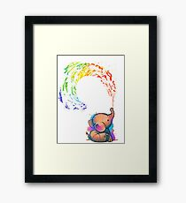 Baby Elephant Framed Print