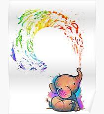 Baby Elefant Poster