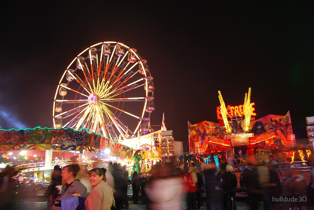 Hull Fair 2007 Big Wheel  by hulldude30