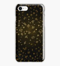 Charter gold iPhone Case/Skin