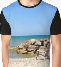 Beach Relaxation Graphic T-Shirt