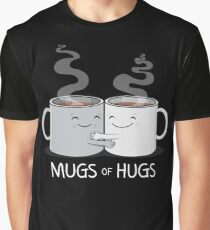 Mugs of Hugs Graphic T-Shirt