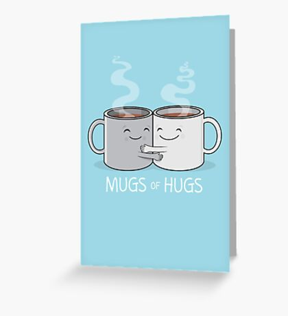 Mugs of Hugs Greeting Card