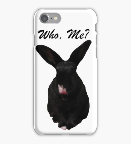 Who, Me? iPhone Case/Skin