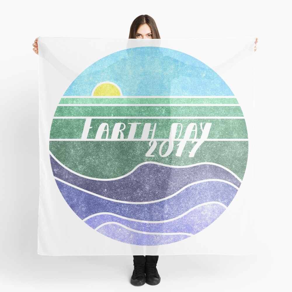 Earth Day 2017 Scarf