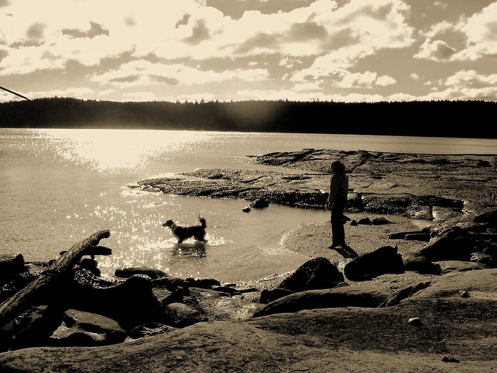 On the Beach by Holls