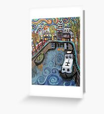 Amsterdam and Rijksmuseum Greeting Card