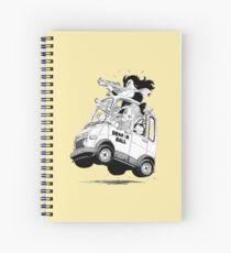 Yamcha Bulma Puar Spiral Notebook