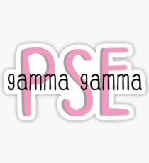 PSE  Sticker