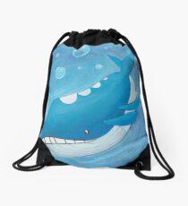 Pokemon Painting - Wailord Drawstring Bag