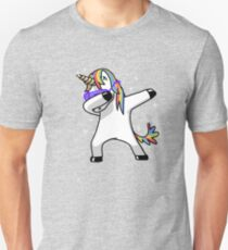 Dabbing Unicorn Shirt Dab Hip Hop Funny Magic Unisex T-Shirt