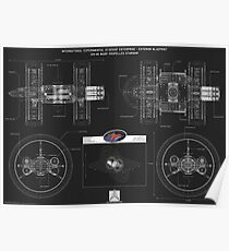 IXS Enterprise Blueprint (Third Anniversary - Black Edition) Poster