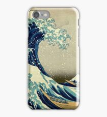 Hokusai, The Great Wave off Kanagawa, Japan, Japanese, Wood block, print iPhone Case/Skin