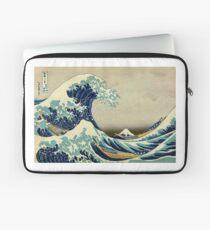 Hokusai, The Great Wave off Kanagawa, Japan, Japanese, Wood block, print Laptoptasche