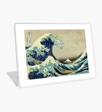 Hokusai, The Great Wave off Kanagawa, Japan, Japanese, Wood block, print Laptop Folie