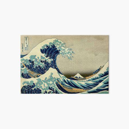 Hokusai, The Great Wave off Kanagawa, Japan, Japanese, Wood block, print. Art Board Print