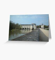 Loire Chateau Greeting Card