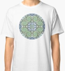 Shades of Green Mandala Classic T-Shirt
