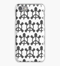 Peace Turtle (pearl) iPhone Case/Skin