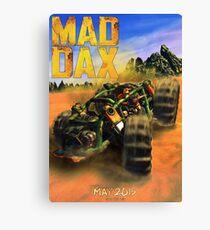MAD DAX - Mad Max / Jak and Daxter Canvas Print