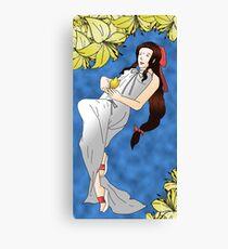 Final Fantasy: Aeris Gainsborough Canvas Print