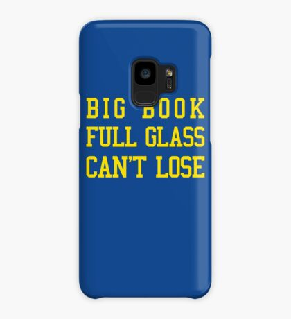 Big Book, Full Glass, Can't Lose Case/Skin for Samsung Galaxy