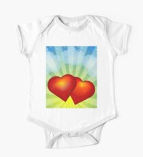 Red hearts Kids Clothes