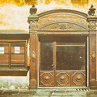 Old shop door and window by Silvia Ganora