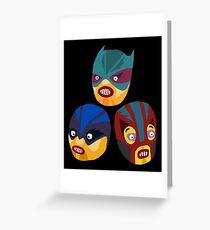 Superheroes Greeting Card