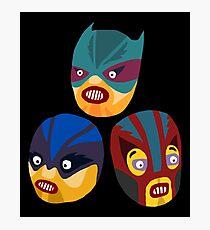 Superheroes Photographic Print