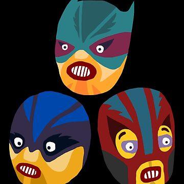 Superheroes by shewo