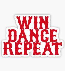Win Dance Repeat Sticker