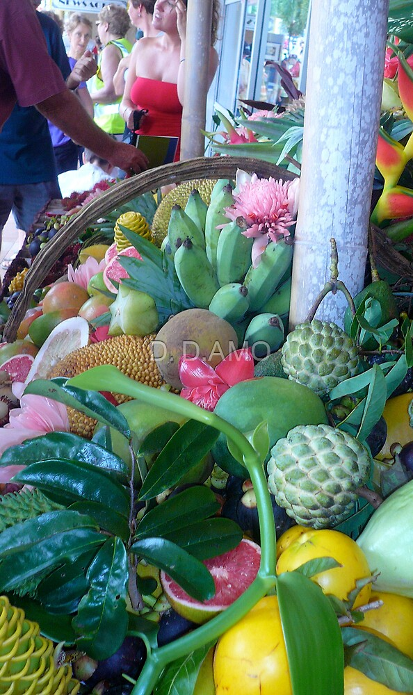 Tropical Fruit by D. D.AMO