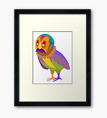 Cartel birdman Framed Print