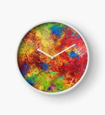 A petits pas - In small steps Clock