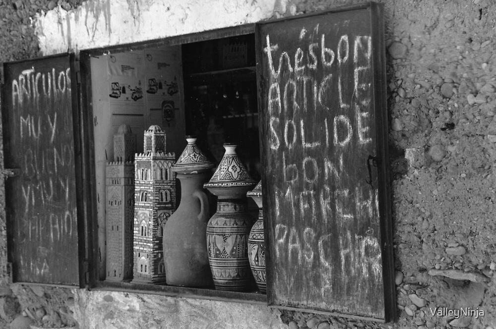 Shop Window in Morocco by ValleyNinja