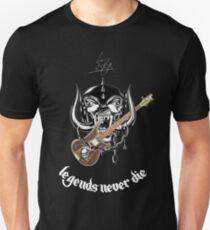 Lemmy Kilmister - Legends Never Die Unisex T-Shirt