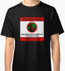Elm Street Neighborhood Watch Poster Classic T-Shirt