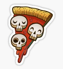 Pizza Skullgioni Sticker