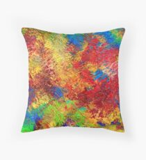 A petits pas - In small steps Throw Pillow