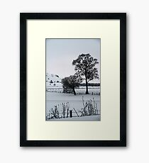 Winter Scene 1 Framed Print