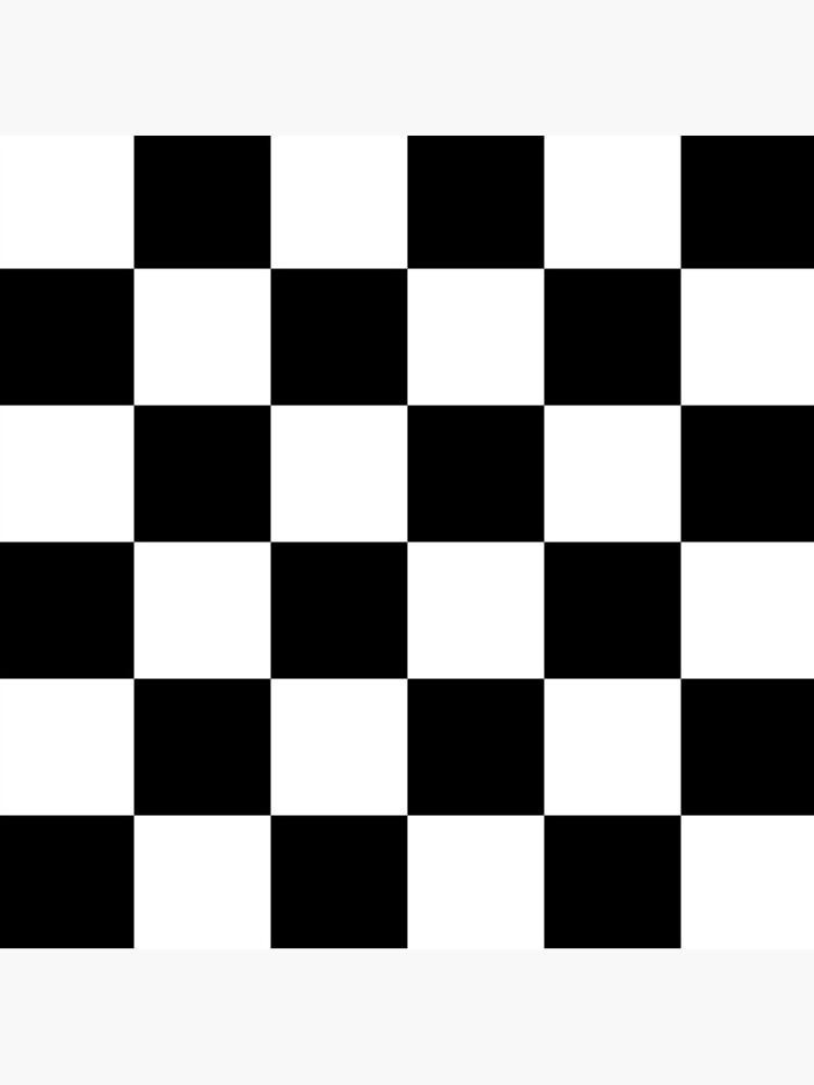 Checkered Flag, Chequered Flag, Motor Sport, Checkerboard, Pattern, WIN, WINNER,  Racing Cars, Race, Finish line, BLACK. by TOMSREDBUBBLE