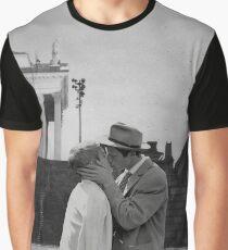 Collage A bout de souffle (Breathless) - Jean-Luc Godard Graphic T-Shirt