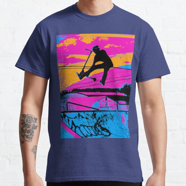 Let's Fly! - Stunt Scooter Classic T-Shirt