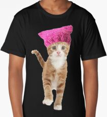 Resistance Kitty Long T-Shirt